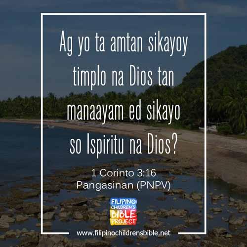 Pangasinan Bible