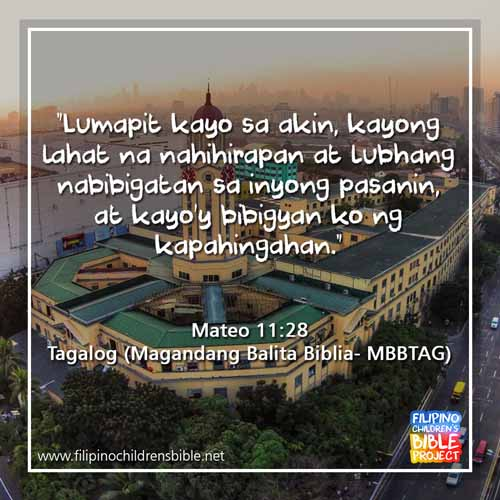 Tagalog Bible | Holy Bible for Children | Filipino