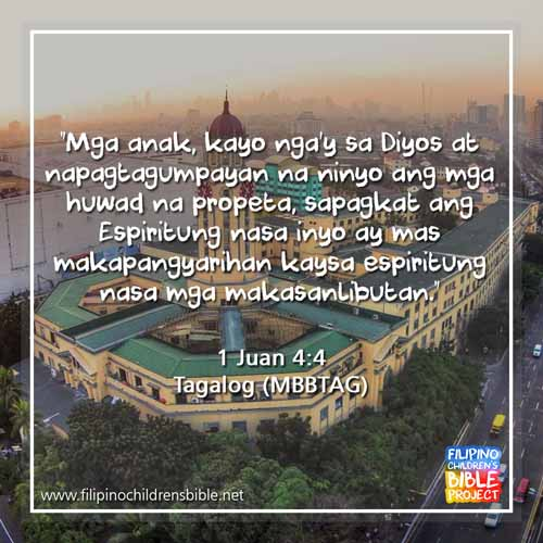 Tagalog Bible Holy Bible For Children Filipino