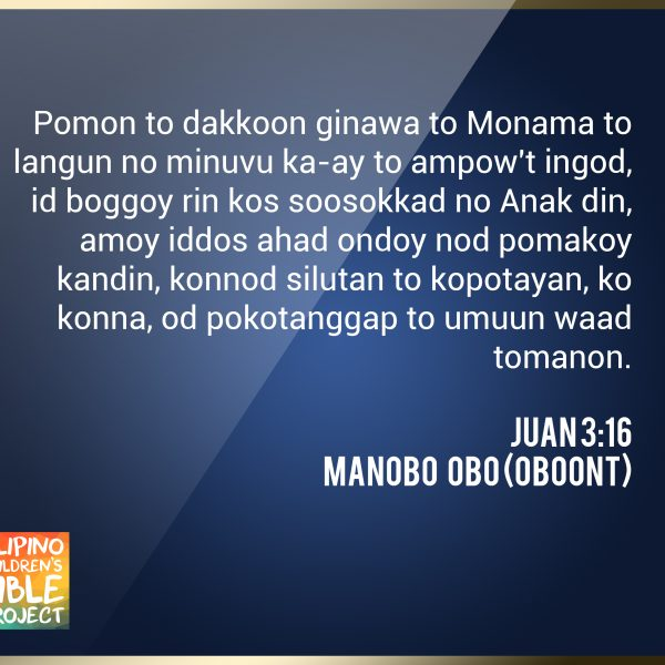 Manobo Obo