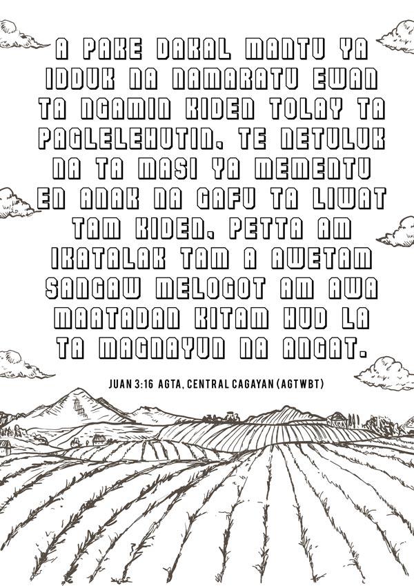 Agta central Cagayan Bible