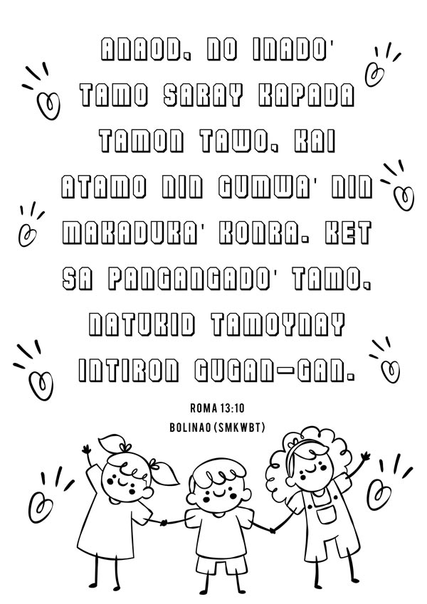 Bolinao Bible Resources for Children